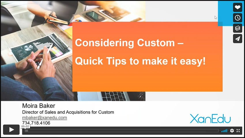 4 Tips for Successful Custom Content Creation Image
