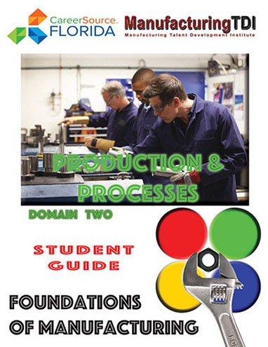 Foundations of Manufacturing: Domain 2 Production & Processes, Third Edition — Student Guide