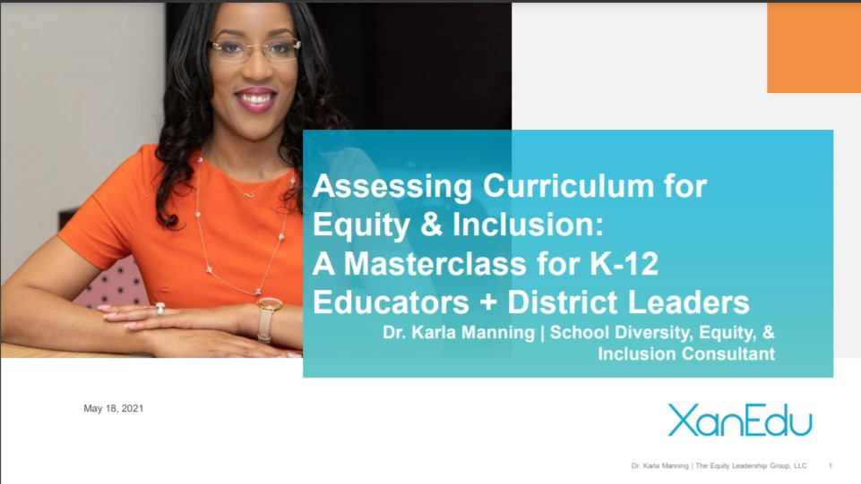 Transforming Your Curriculum To Be Equitable and Inclusive  Image