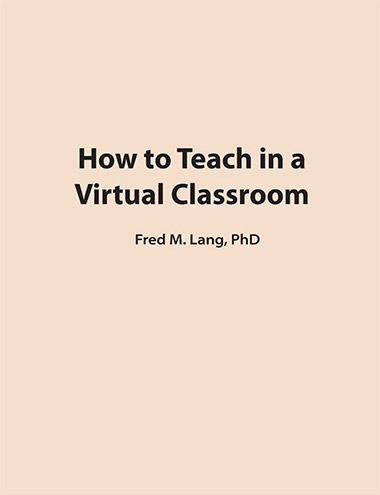 How to Teach in a Virtual Classroom