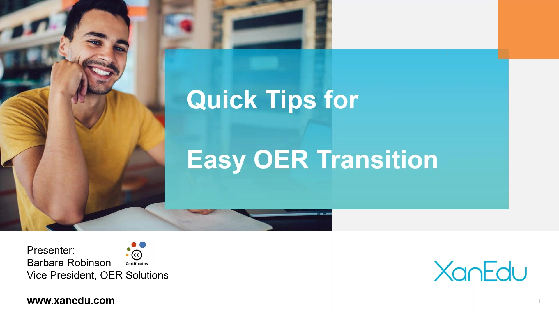 Quick Tips for Easy OER Transition Image