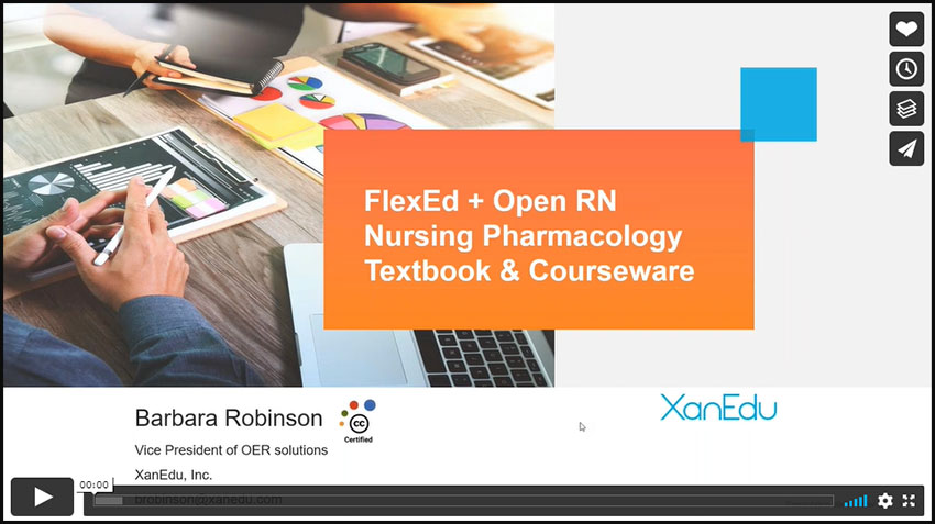Easy transition to Nursing OER with Open RN and XanEdu FlexEd Image