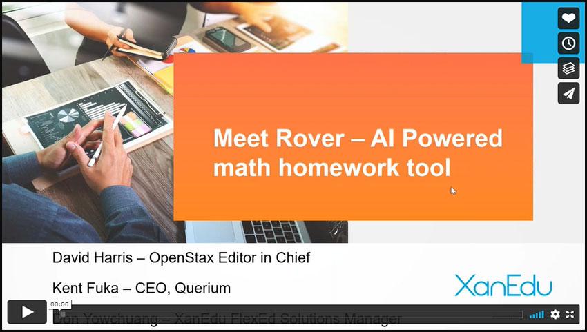 Introducing Rover, AI-powered Math Homework Tool Image