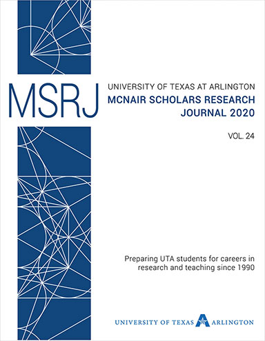 McNair Scholars Research Journal, vol. 24, 2020