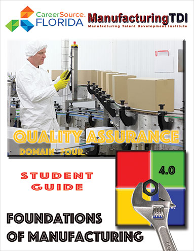 Foundations of Manufacturing: Domain 4 — Quality Assurance (Student Guide)