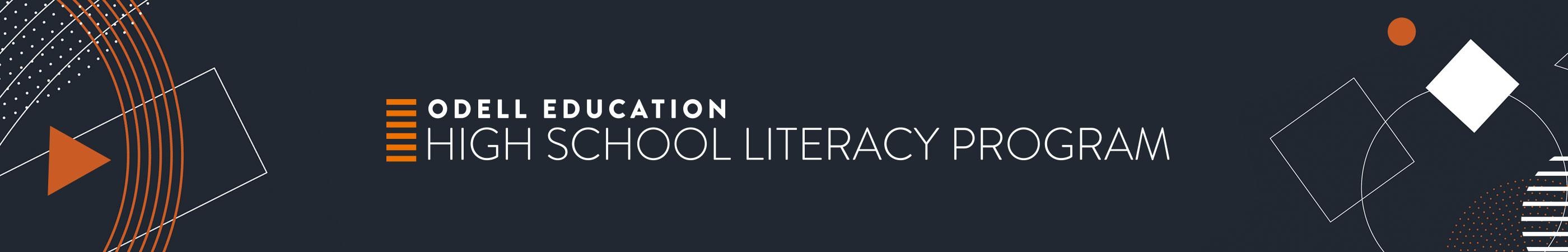 Odell Education High School Learning Program banner