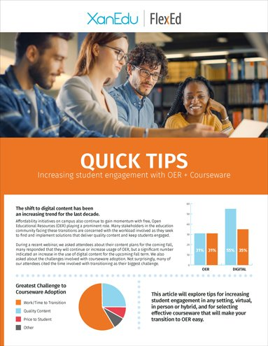xanedu-flexed-quick-tips-student-engagement-oer-courseware-cover-image